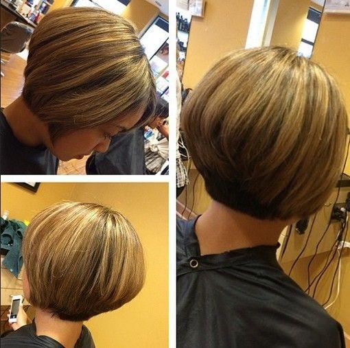 Stacked Bob Cut - Short Hair Styles 2015