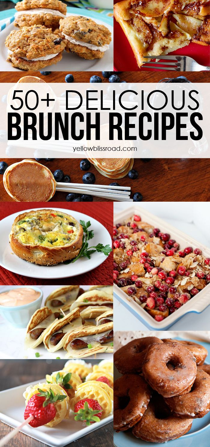Delicious brunch recipes strawberry sweets