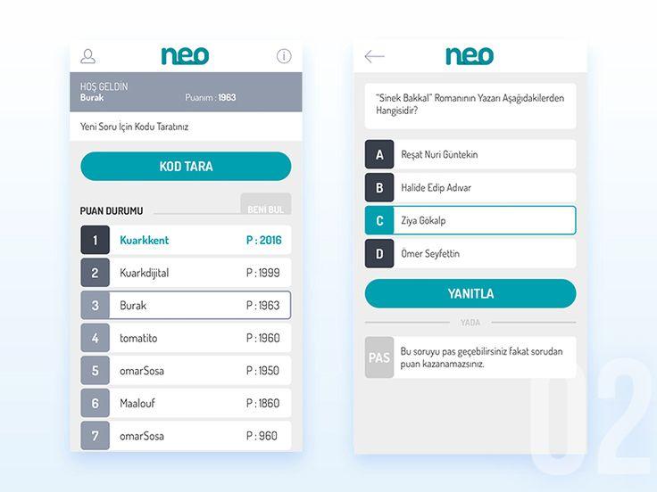 Neo Quiz App - 2