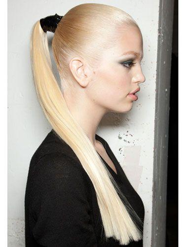 #hair #ponytail #Jason WuHairstyles, Jason Wu, Beautiful, Daphne Groeneveld, Blond, Hair Trends, Fall Hair, Ponies Tail, Sleek Ponytail