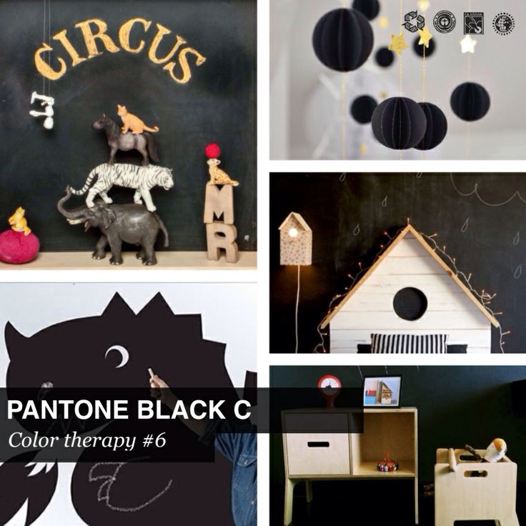 #Pantone color therapy Black C