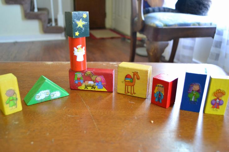 Nativity Blocks for toddlers