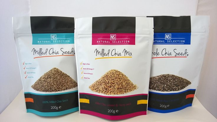 Chia Seeds Packaging