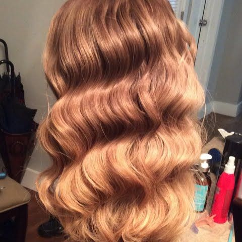 VAVAVOOM waves on Huvaluva's colortreated hair using Beauty brands gift! #MyGreatHairDay
