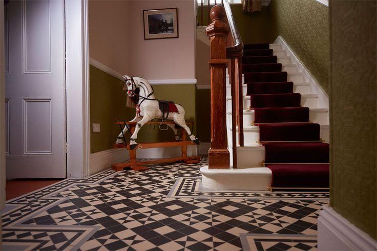 The Braemar pattern, Victorian Floor Tiles by Original Style