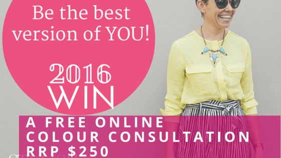 WIN >> A Free Online Colour Consultation RRP $250