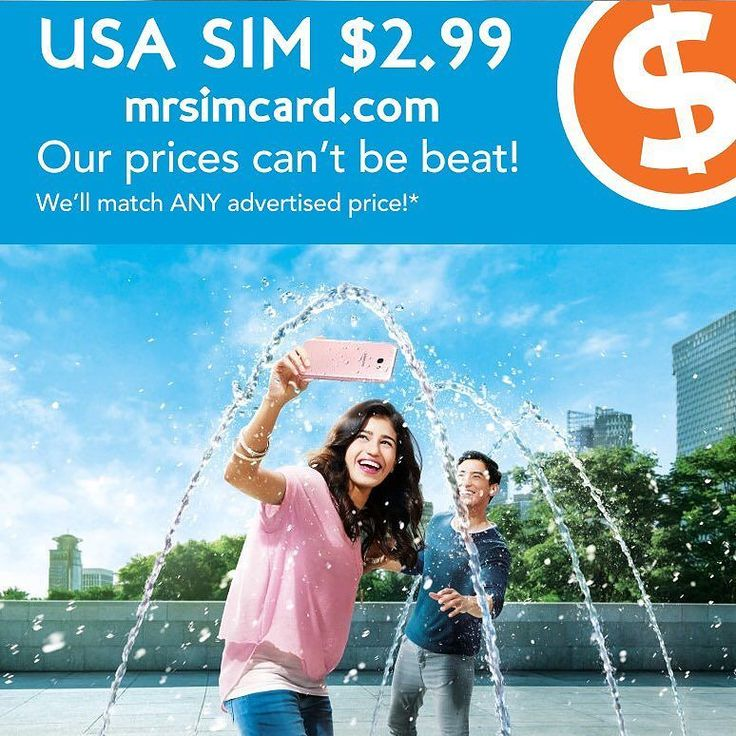 Get a Visit USA Tourist sim online at http://ift.tt/2iRhvSx.  Are you running around in circles trying to find a sim for your unlocked phone?  Stop spinning your wheels.  USA sim cards are only $2.99 @mrsimcard.  Enjoy unlimited Talk Text 4G LTE Data as well as included international calls.  Sim cards are triple or dual cut so they fit your phone. #tw #li #visitusa #unlimited #iphoneusa @el55el