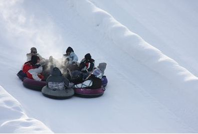 Snow Tubing in Barrie, Ontario!
