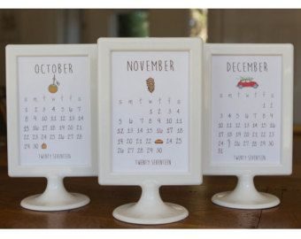 2017 doodle calendrier de bureau avec socle cadre