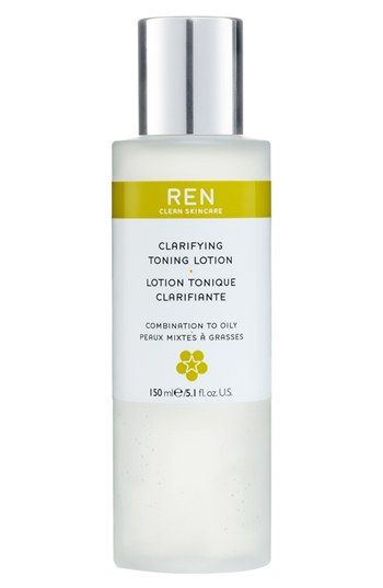 REN Clarifying Toning Lotion - this is your exfoliator. Use with cottom pad am and pm.