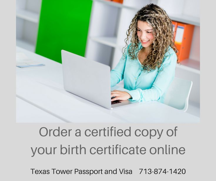Did you know you can order a certified copy of your US birth certificate online?  Read more: http://www.unitedstatesbirthcertificate.com