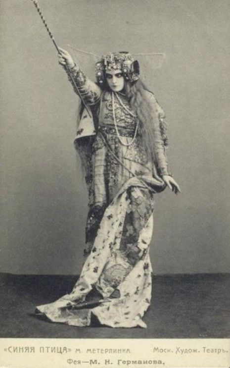 Haunting photographs from 'The Blue Bird' a fantasy play performed in Moscow in 1908 | Dangerous Minds