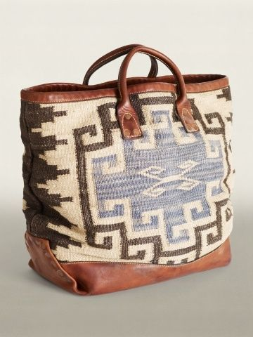 Tribal bag from Ralph Lauren. Need this now.: Ralph Lauren, Fashion, Ralphlauren, Everett Tote, Tote Bags