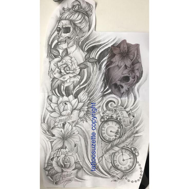 full arm tattoo design