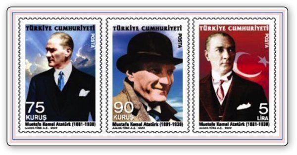 #history of #Türkiye  and #Atatürk #stamps