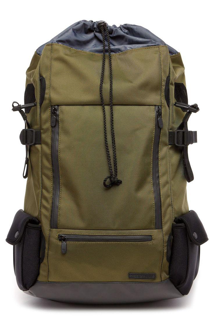 Lexdray 'Mont Blanc' Ballistic Nylon Backpack