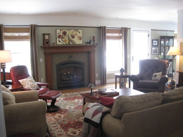 Craftsman living room ideas craftsman style meets for Craftsman living room ideas