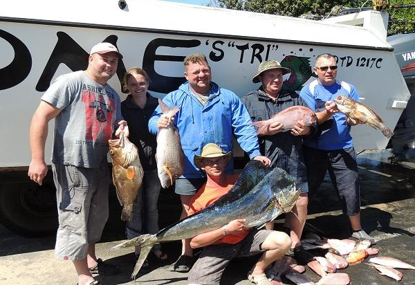 Awesome fishing Charters is just one of the many operators offering deep sea fishing outings. Why not try your hand?