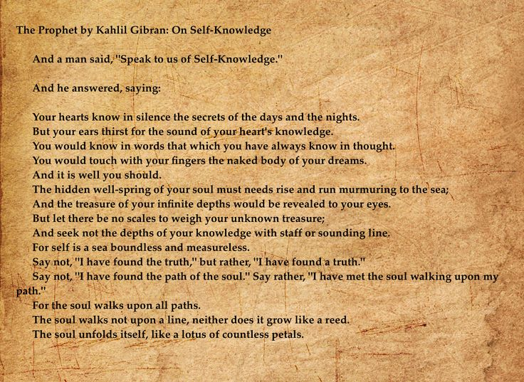 the prophet analysis kahlil gibran Information on the author kahlil gibran (1883-1931), a poet, philosopher, and an  artist was born in lebanon, a land which has produced many prophets.