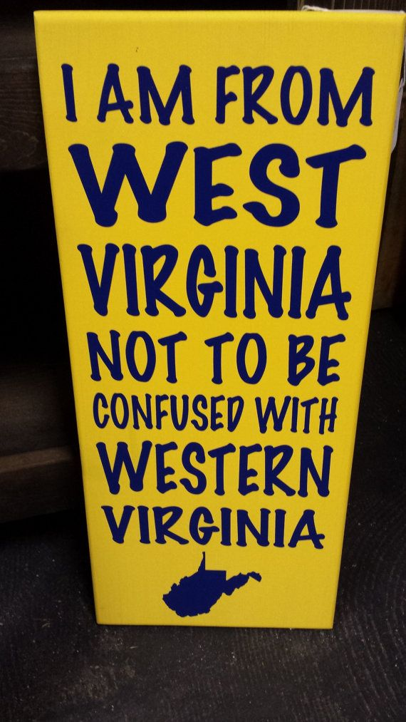 WV Sign  Wood Sign  Mountaineer Sign  West by BeaDazzledandBeyond, $19.00