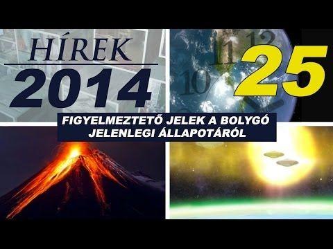 25. Alcyon Plejádok - Hírek 2014, összeesküvések, természeti katasztrófák és más furcsa jelenségek.