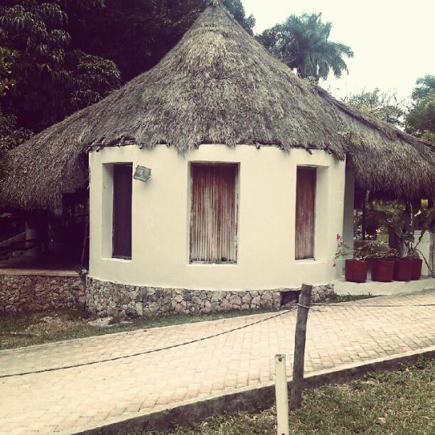 Small hut in Chichen Itza.