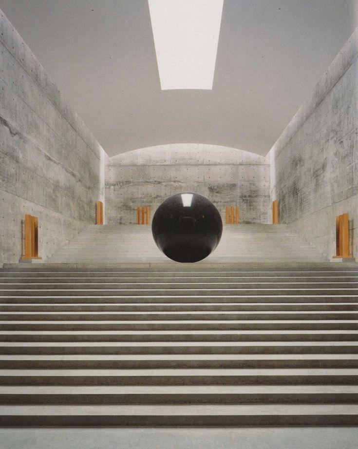 Chichu Art Museum, Naoshima, Japan, 2004   Tadao Ando