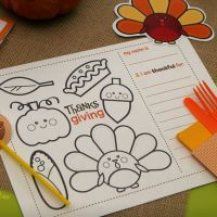 8 Free Printables for Thanksgiving