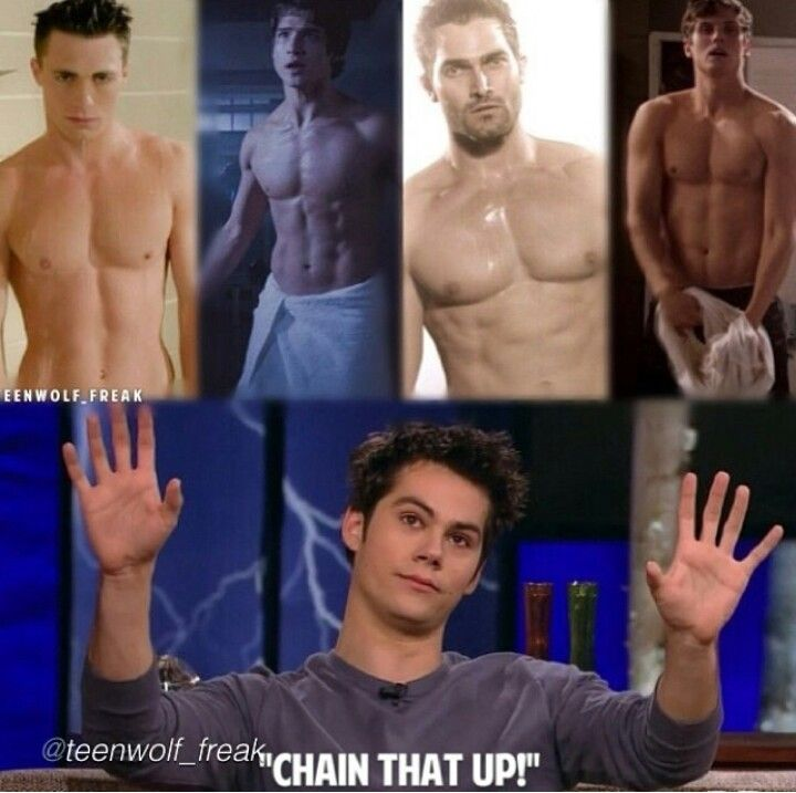 This cast, I cant even. Dylan O'Brien | Tyler Hoechlin | Tyler Posey | Colton Haynes| Daniel Sharman |