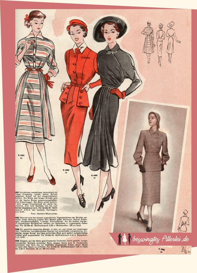 Wiener Weltmode Nr. 15 1951