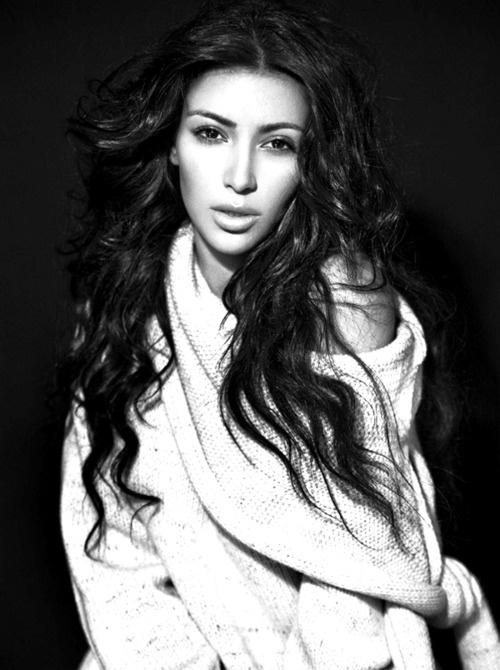 Kim Kardashian...... Not as pretty as she seems