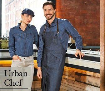 Ed ecco le novità #BRAGARD , #URBANCHEF per uno stile alla moda! Uomo: Camicia #Paco - Grembiule #Benjy - Pantaloni #Courbet Donna: Cappello #Cab - Camicia #Cirsey - Pantalone #Petal #AngeloDelloChef #Chef #Cooking