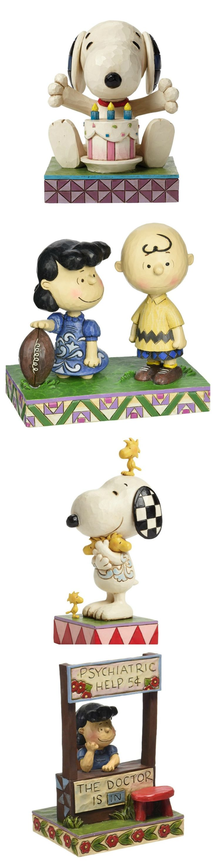 Mark your next special occasion with the Peanuts Gang! Add a Snoopy and Charlie Brown figurine created by Jim Shore to your seasonal and holiday decor. Start shopping via CollectPeanuts.com.