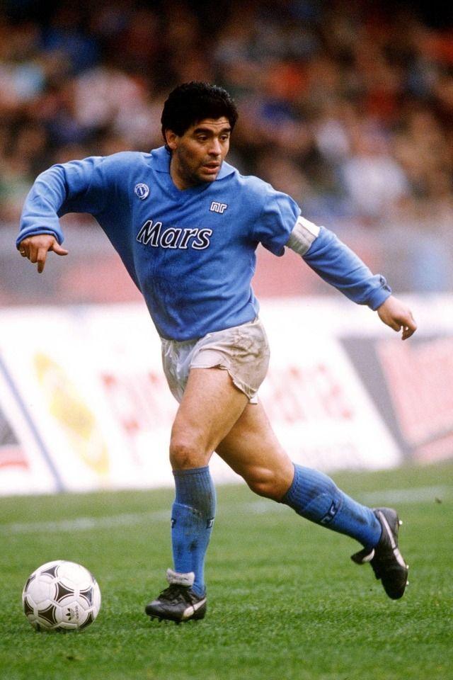 #Maradona con el Nápoli