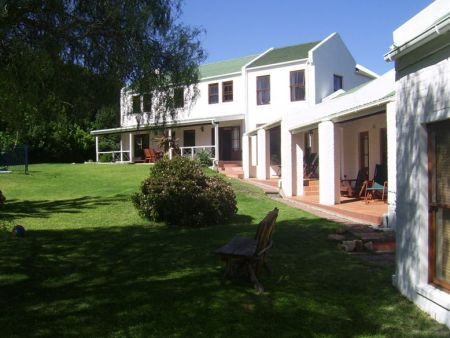 Self catering accommodation, Noordhoek, Cape Town  A view of the front of the Lodge
