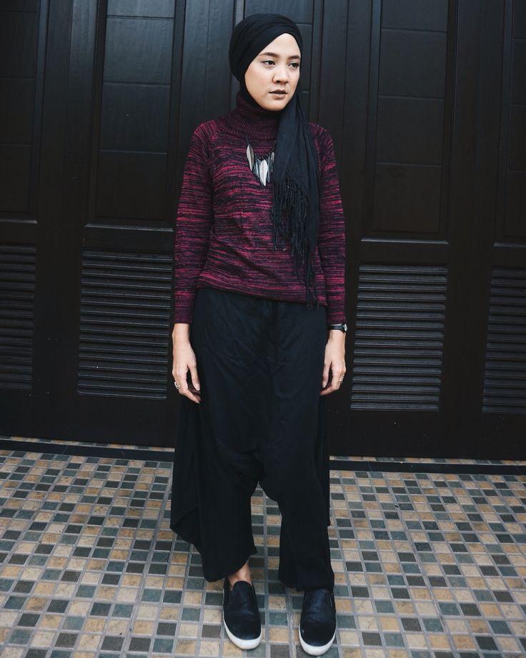 #hijab #hijabstyle #hijabersindonesia #lookbookindonesia #hijabfashion #hotd