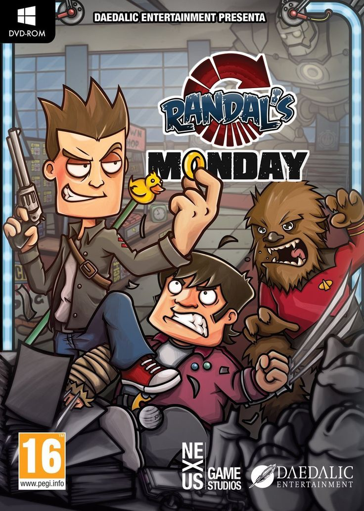 Randal's Monday pc - Buscar con Google