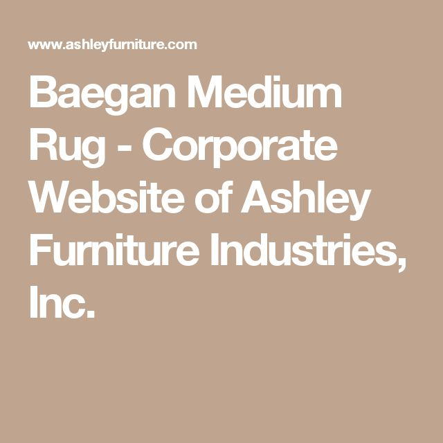 Baegan Medium Rug - Corporate Website of Ashley Furniture Industries, Inc.