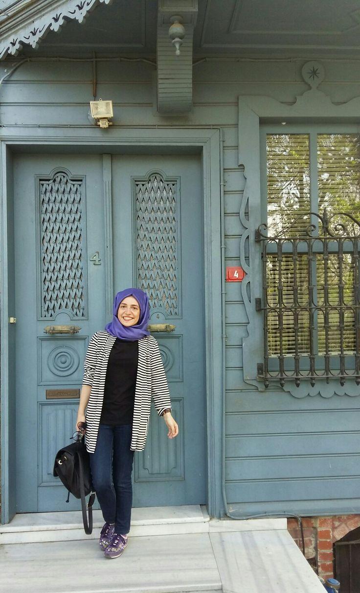 İnstagram: ireminnietemiz   #hijab #tesettur #pretty #house #home #blue #designer #dress #hijabers