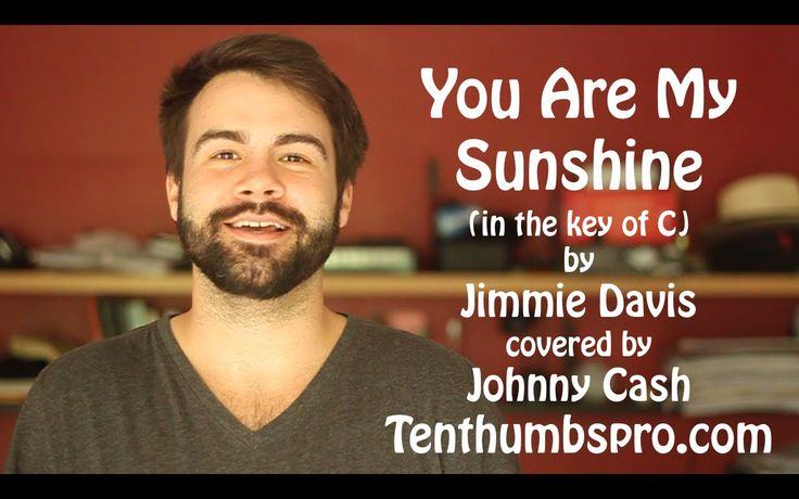 You are my sunshine! This is considered a Ukulele standard by many Ukulele players and it is an easy beginner song that you will probably hear in Ukulele gro...