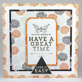 Craftwork Cards Blog: Take it easy... including the Take It Easy stamps, card by Neil Burley