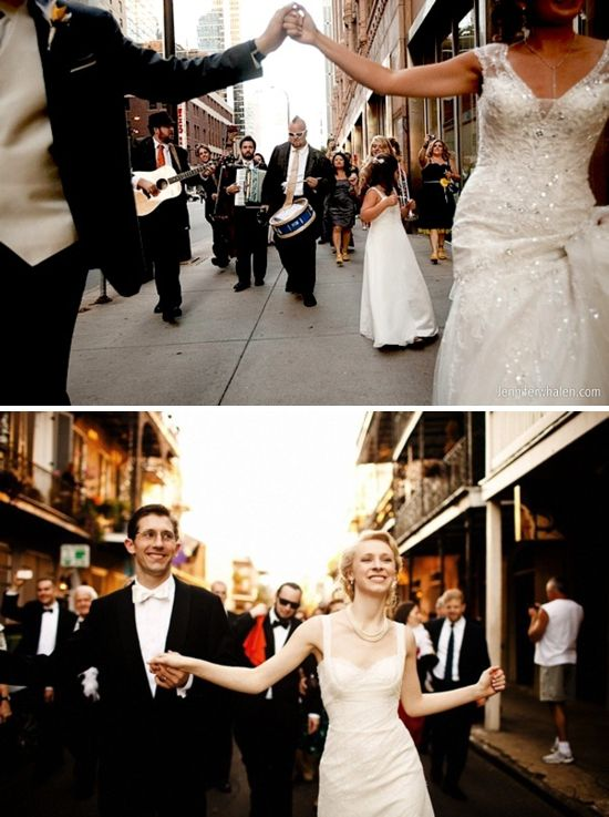 Southern Belle Wedding Traditions ✈ The Second Line
