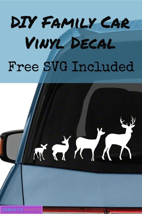How To Make Car Decals Domestic Heights Car Decals Car Decals Vinyl Vinyl Decals