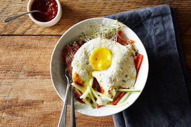 This, my friends, is bibimbap: | Here's How To Make Bibimbap At Home
