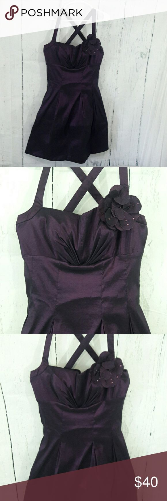 Jessica Howard Nwt Dress Pin up Rockabilly Tagged are ripped • 14 • Deep Plum • GORG!!! • Lined with petticoat Jessica Howard Dresses