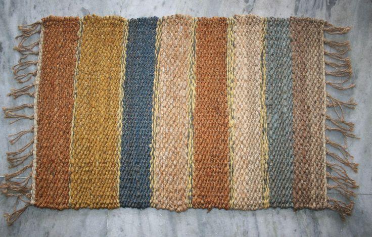 jute door mat turkish handmade indoor outdoor turkish welcome door, floor mat #Unbranded #Indian