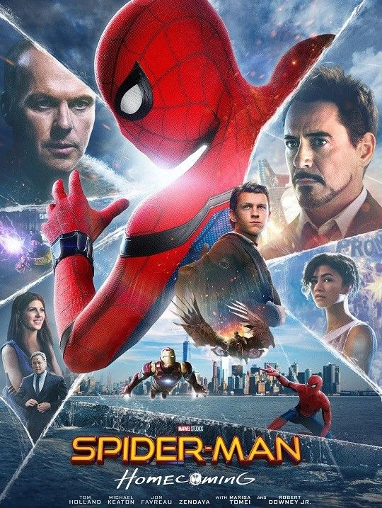 Spider-Man: Homecoming (2017) HQ CAM Tamil - English MKV MP4 Free Full Movie