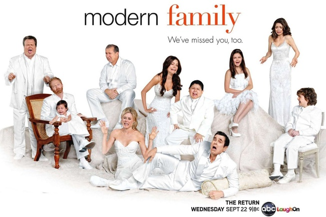 Modern Family. Freaking love this show.