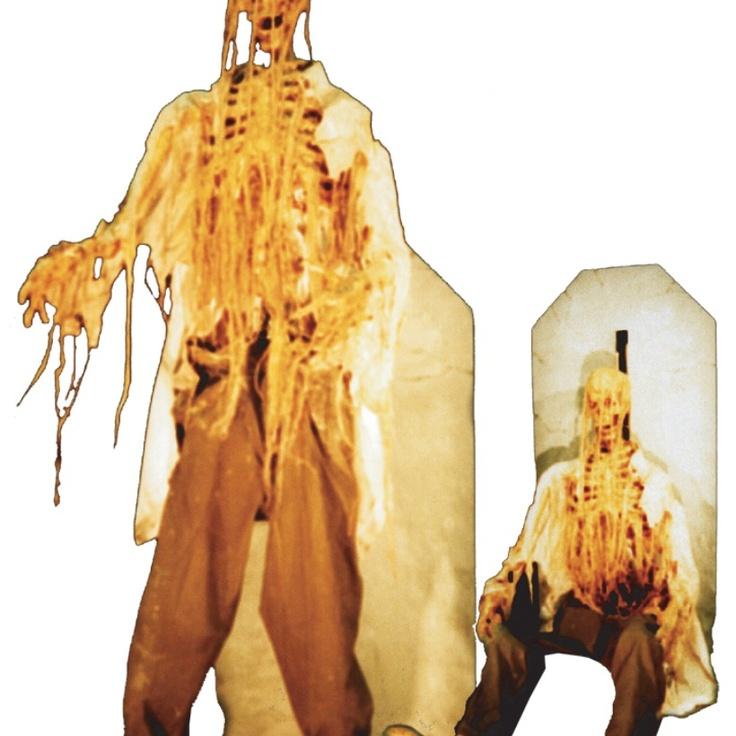XL Animatronic Undead Zombie Clown riesiger Horror Roboter Halloween Party Deko