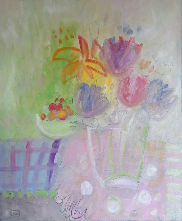 #kobus#malgo#abstractart#malarstwo#flowers